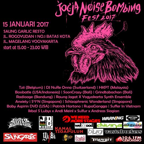 Jogja Noise Bombing Fest 2017