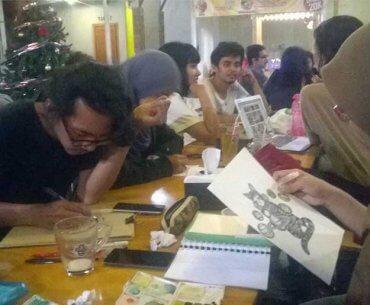 Sketsa Pulang Kerja Yogyakarta