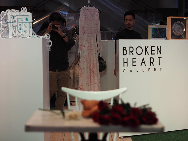 Broken Heart Gallery Exhibition at Plaza Indonesia