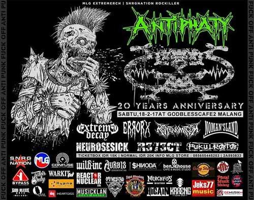 Antiphaty 20th Anniversary Concert