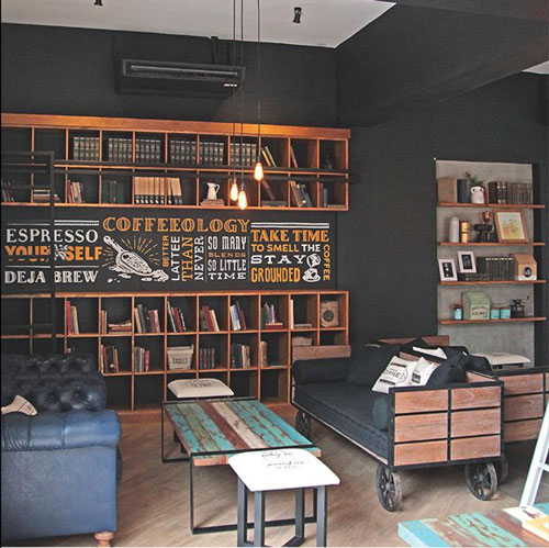 The Library Malang Review