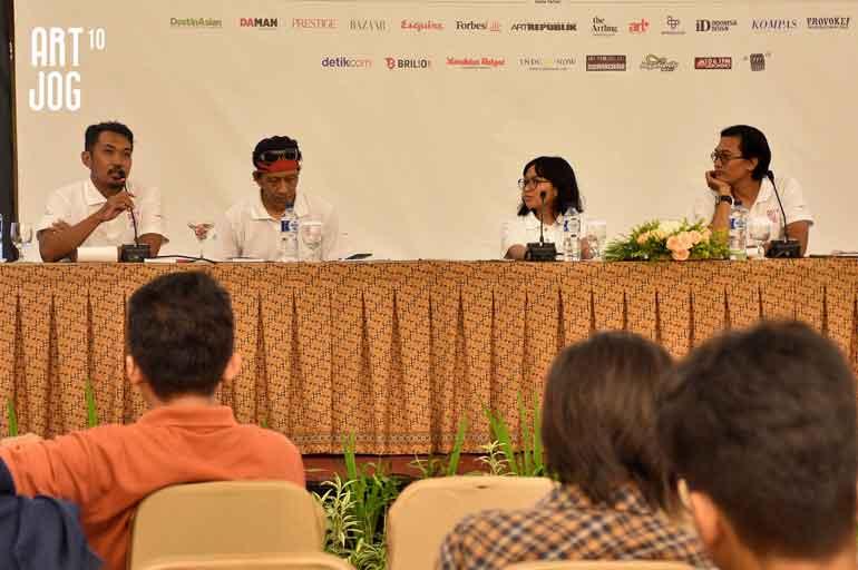 ART JOG 10 Press Conference