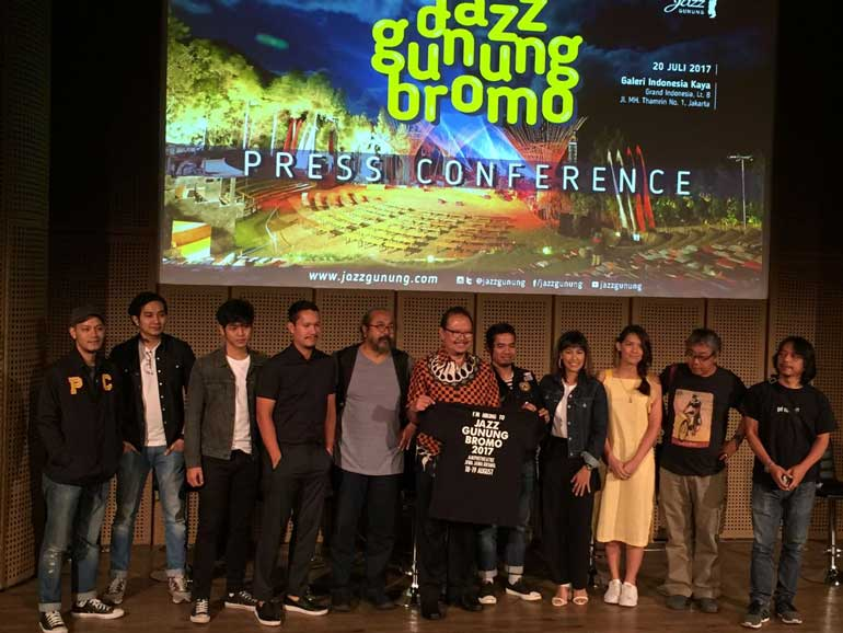 Jazz Gunung Bromo 2017 Press Conference
