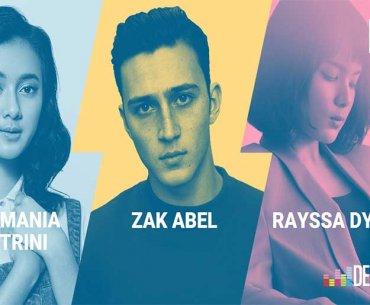 Deezer NEXT 2018 Zak Abel Rayssa Dynta Rahmania Astrini