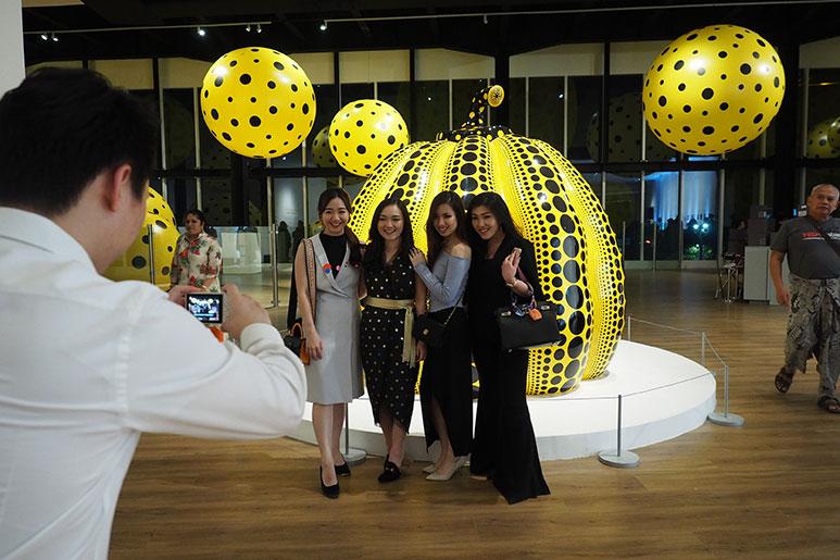 Yayoi Kusama Exhibition Museum MACAN