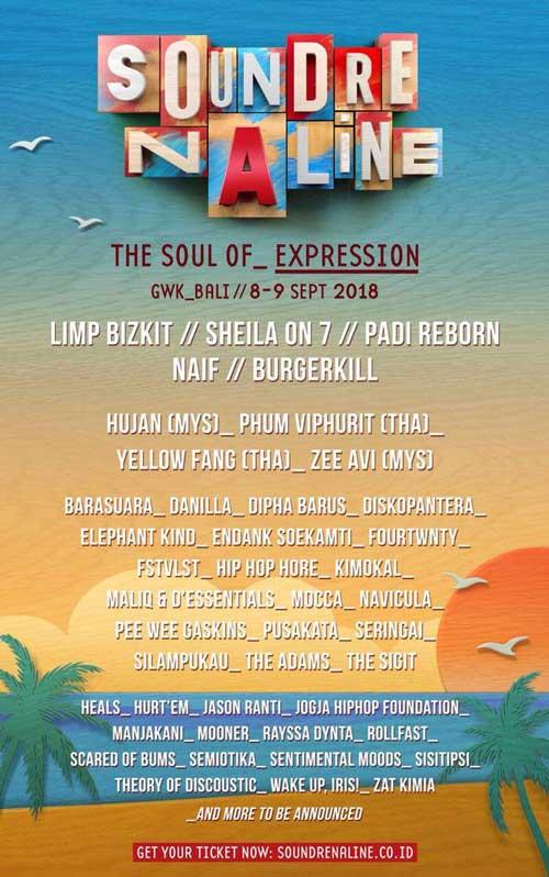 Soundrenaline 2018 Soul of Expression Media