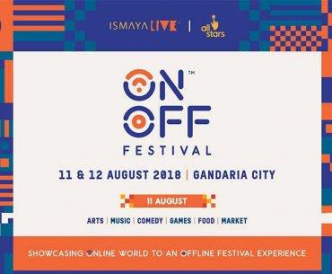 ON OFF Festival 2018 Ismaya