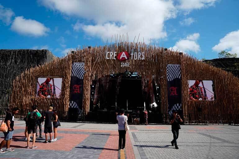 Creators Park at Creators Stage Soundrenaline 2018