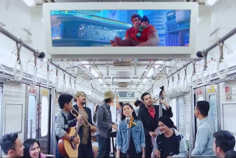Sebuah Lagu Payung Teduh Ralph Breaks The Internet