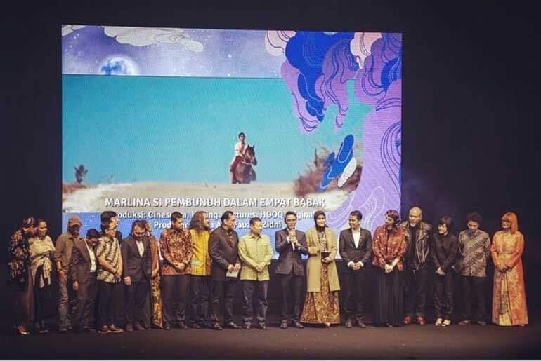 Festival Film Indonesia Piala Citra Awards 2018 Winner