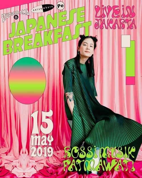 Japanese Breakfast Noisewhore Live in Jakarta