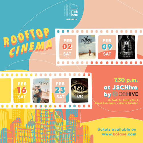 Misbar Jakarta Rooftop Cinema