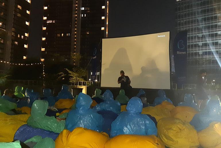 Misbar Jakarta Rooftop Cinema Review KALA