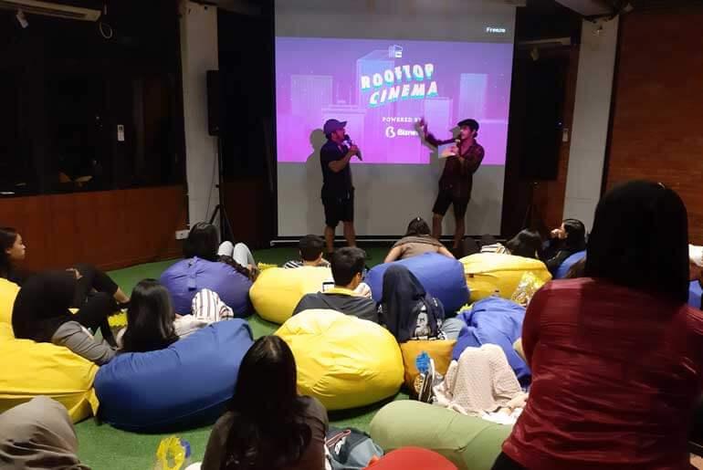 Misbar Jakarta Rooftop Cinema Review