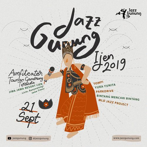 Jazz Gunung Bromo 2019 & Jazz Gunung Ijen 2019 Dates and Line Up