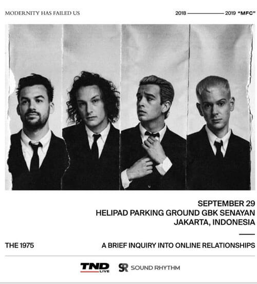 The 1975 Tour in Jakarta
