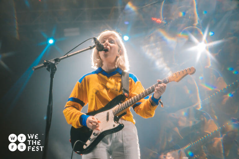 Alvvays Molly Rankin at We The Fest 2019 Review