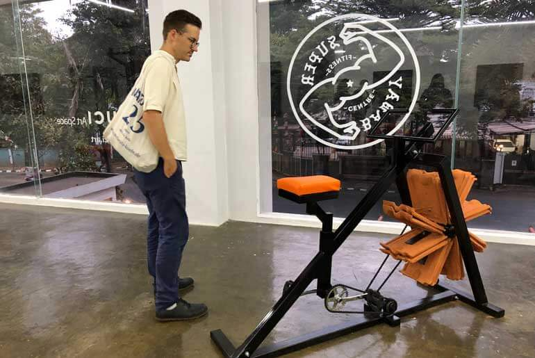 RUCI Art Space Jadi Super Baday Fitness Centre