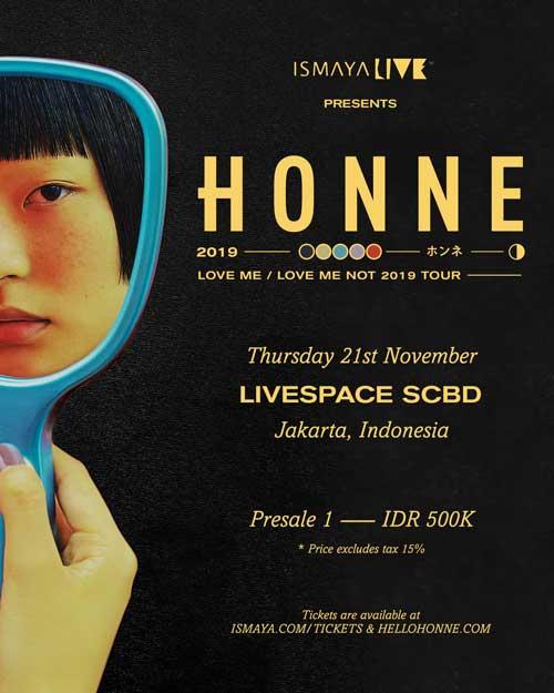HONNE Solo Concert Jakarta Ismaya LIVE