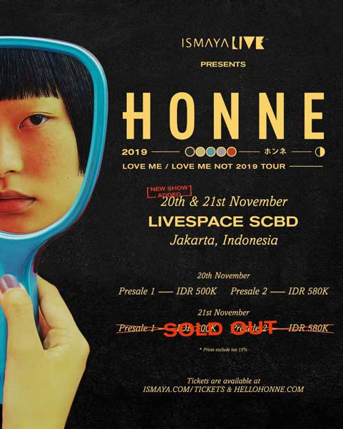HONNE Solo Concert Day 2