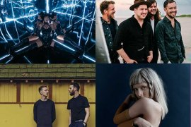 Neon Lights Singapore 2019 Halsey, AURORA, Mumford & Sons, HONNE