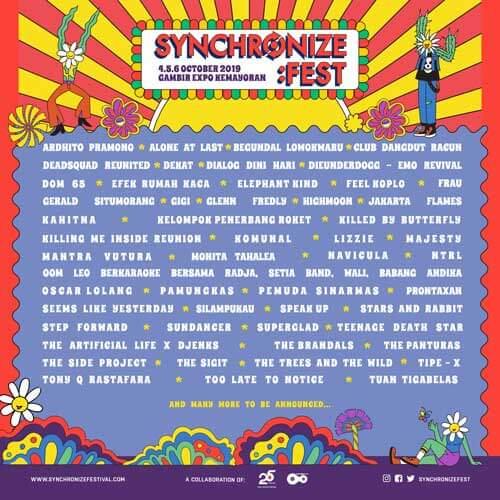 Emo Killing Me Inside Synchronize Festival 2019