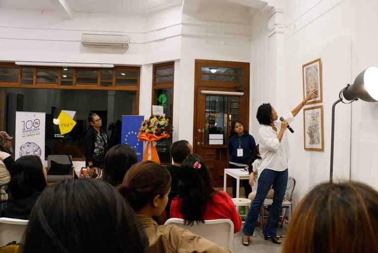 Perempuan Dalam Kopi oleh Aji Yahuti dalam 100% Manusia Film Festival