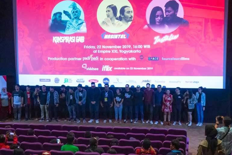 LA Indie Movie Gala Premiere JAFF 2019 Laporan Konspirasi Gaib