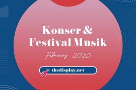 Konser & Festival Musik Februari 2020 Indonesia