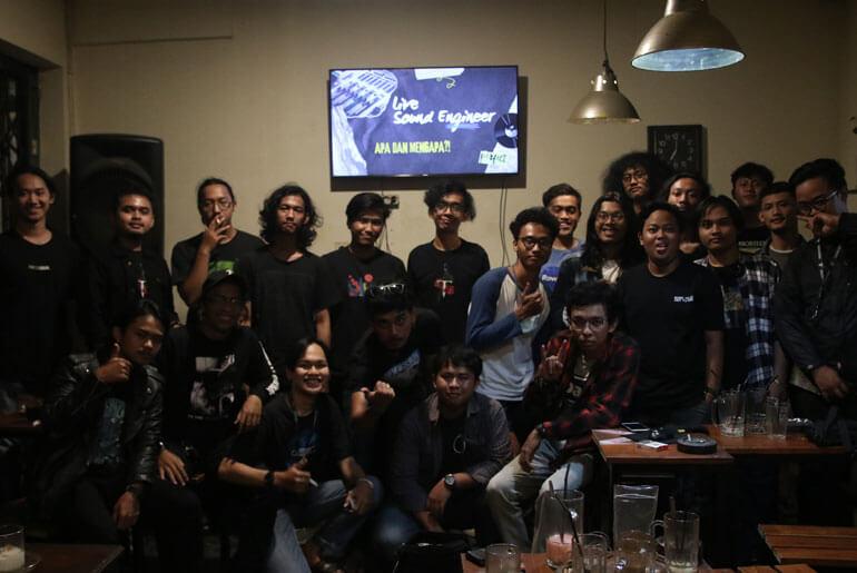 Geliat Pengulik Suara dan Musik 'Road to Kamar Gelap Fest 1'